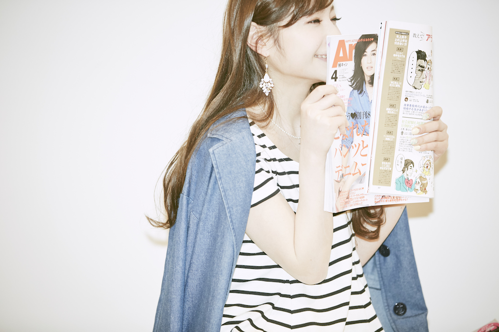 雑誌を開くときのワクワク感がたまらなくて、月に10冊以上買うこともあるんです!