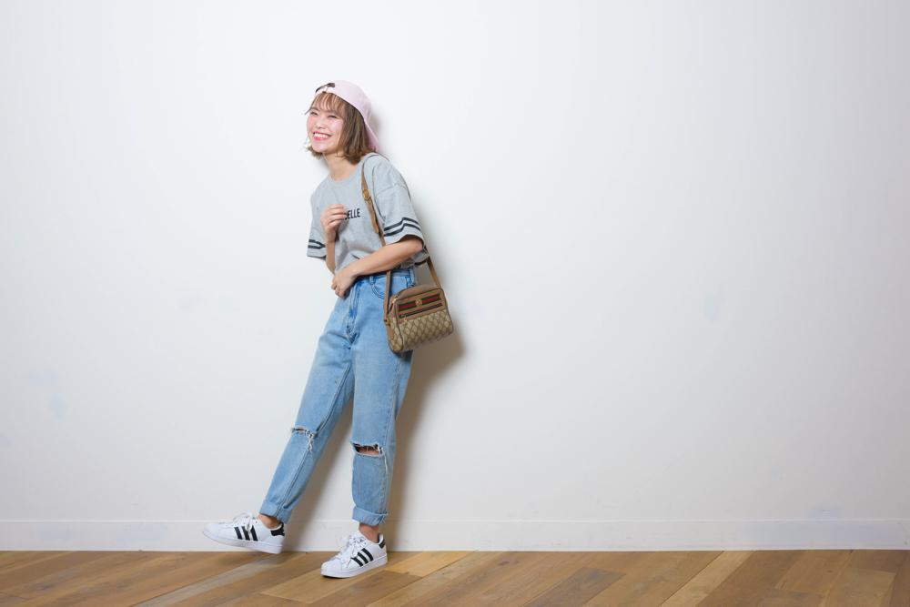 モデル・井村亜理香のカバンの中はカラフル&HAPPY!