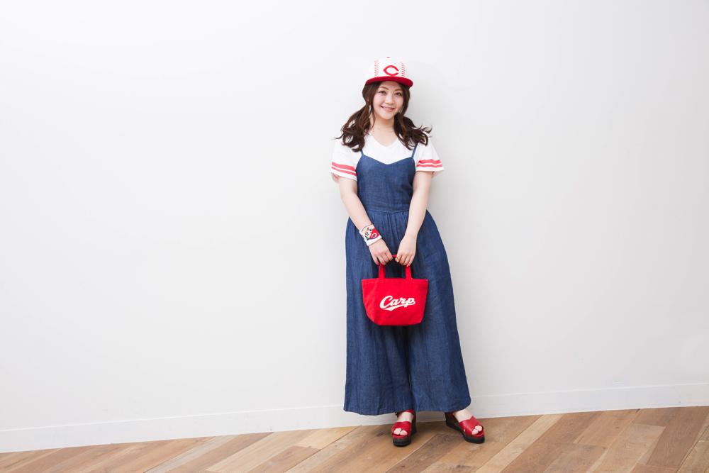 カープ女子神3の大井智保子の観戦スタイルはコレ!