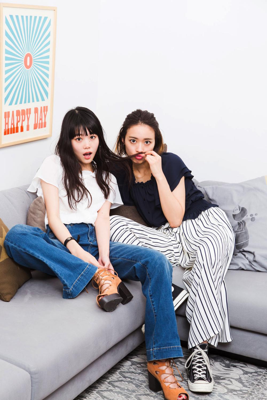 山本奈衣瑠と大社カリンの#BFFエピソード