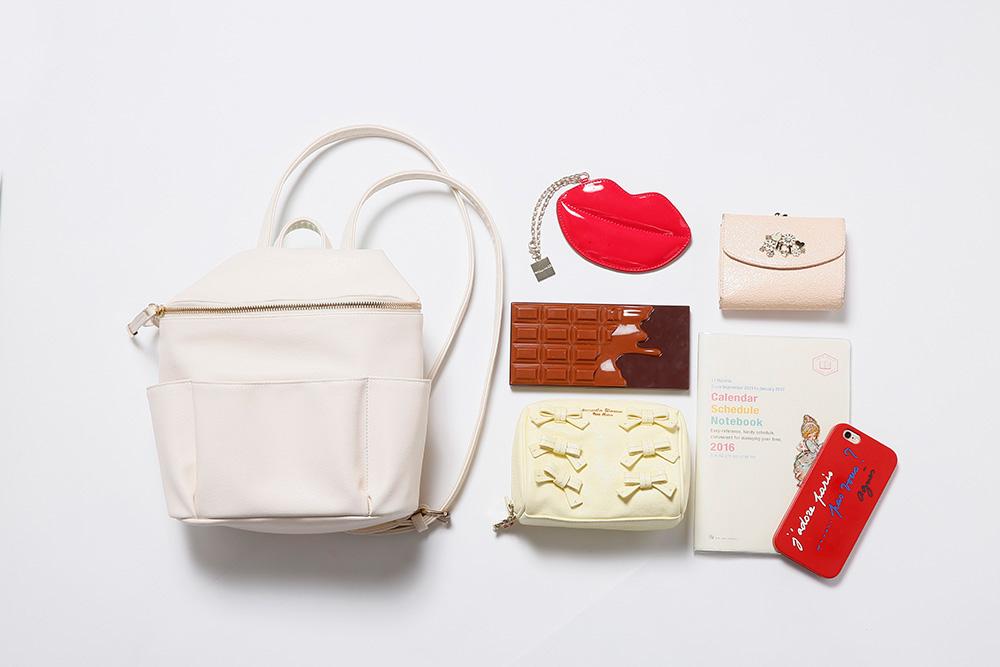 Sachiのバッグはかっちり美人顔♡