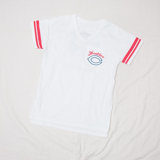 ヘザー×カープ×大井智保子のトリプルコラボTシャツ