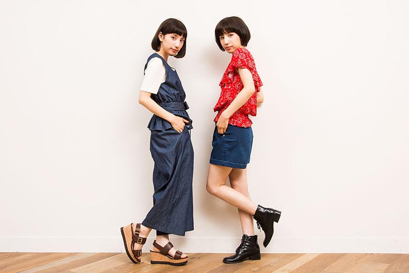 ブレイク確実♡可愛すぎる双子モデルえまえりに質問!