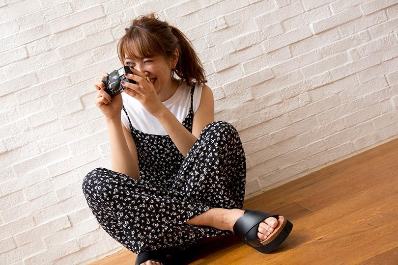 簡単にオシャレ写真が撮れる♡ フィルムカメラの魅力とは?