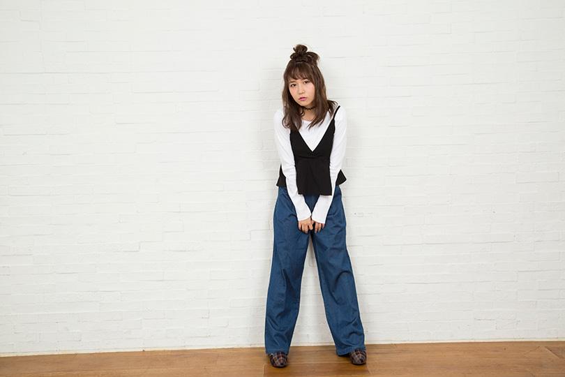SKE48大場美奈が着る♡ キュート&クールなセットアップ