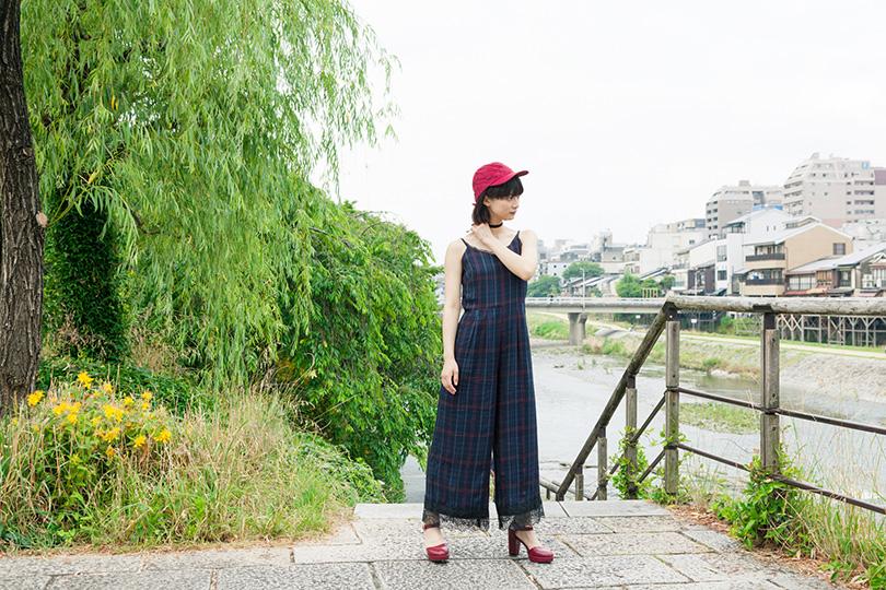"""""""田中真琴、カルチャー女子のひとり休日<京都>"""