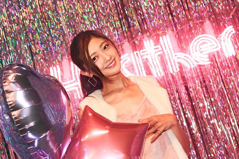 プラス1で華やかさをアップ! Berryz工房 熊井友理奈が着るファーベスト♡