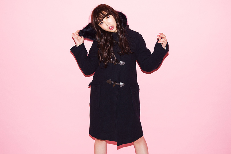 ℃-ute中島早貴が着る♡ 女の子を可愛く見せるダッフルコート
