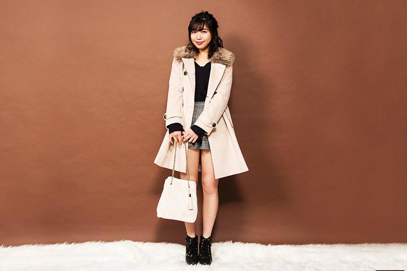 キュートからクールまで♡ 便利で可愛い3WAYコートを中島奈津希が着まわし!