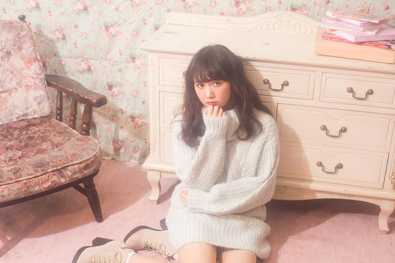 冬のデートにぴったり♡ 永島聖羅が着るふわふわケーブルニット