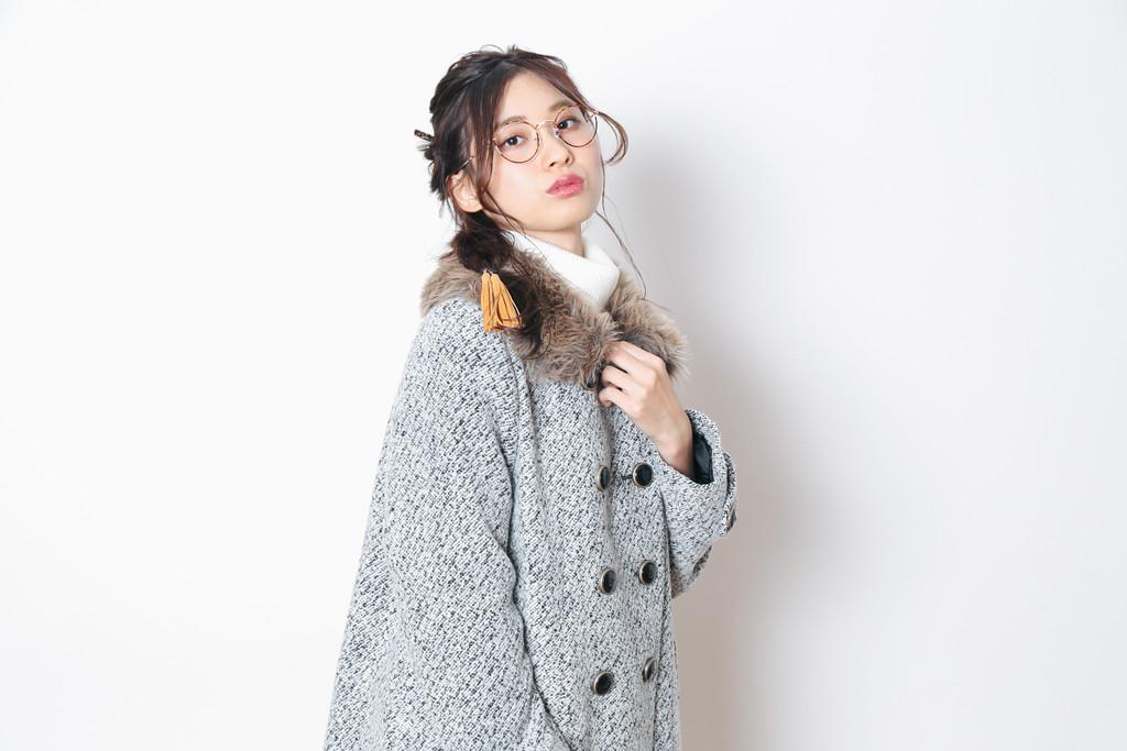 この冬は、ハーフモデルのようなシンプルカジュアルな服装が憧れ!