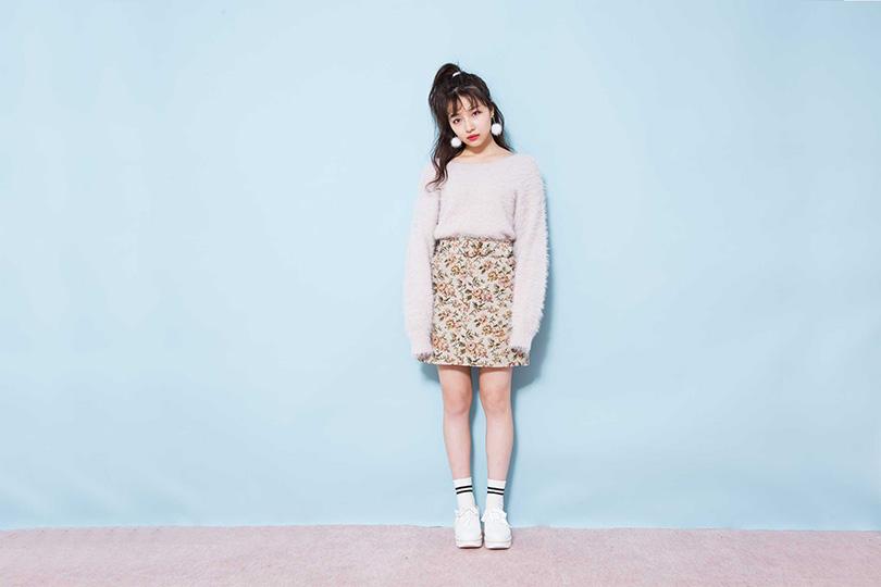 NMB48 村瀬紗英が着まわす♡ チョーカー付きセットアップ
