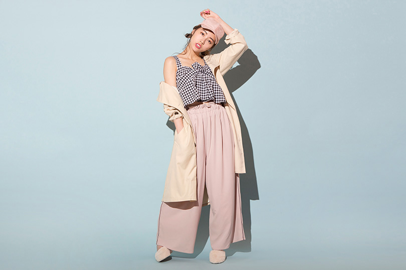 SKE48松井珠理奈が着まわす♡ この春注目のビスチェキャミソール