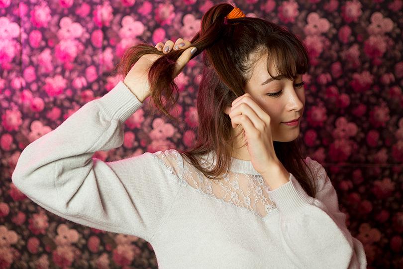 藤井サチがレクチャー♡ 簡単キュートなヘアアレンジ術