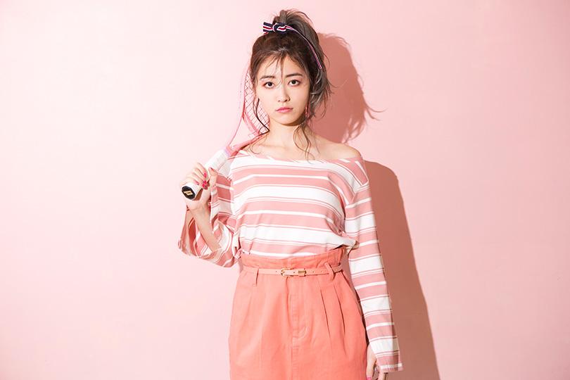 SKE松井珠理奈が着こなす♡ ハッピーカラーのツインズスタイル
