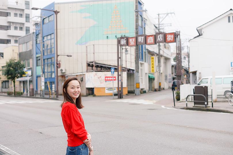 mio、県外から来た友達と過ごす一日<金沢>