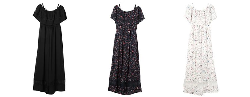 瑛茉ジャスミンが着る、花柄オールインワン