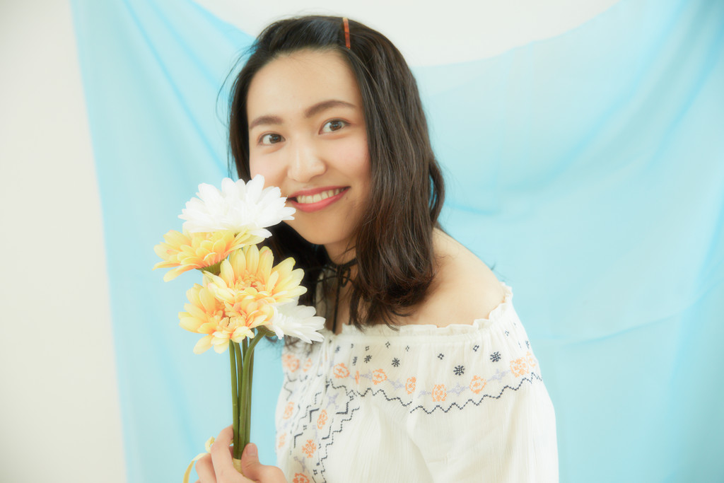 ミス明治学院・中村美穂は、大好きなお笑いを見てストレス解消♡