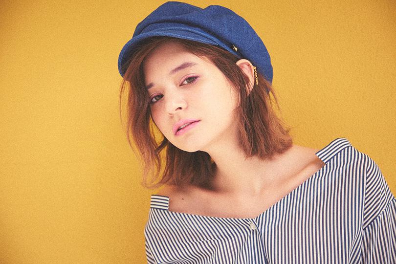 瑛茉ジャスミンが着るスキッパーシャツ♡