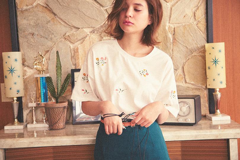 瑛茉ジャスミンが着る、夏のグリーンコーデ