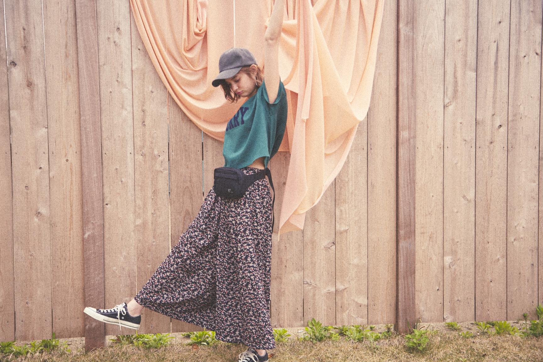 瑛茉ジャスミンが着る、フェスコーデ