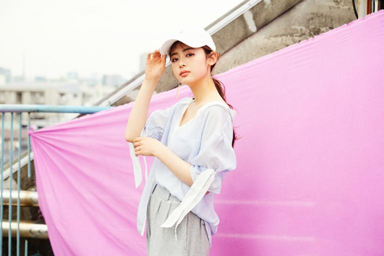 古畑星夏ちゃんがお手本♡リラックス感が大人っぽい新作ワイドパンツでつくるストリートスタイル