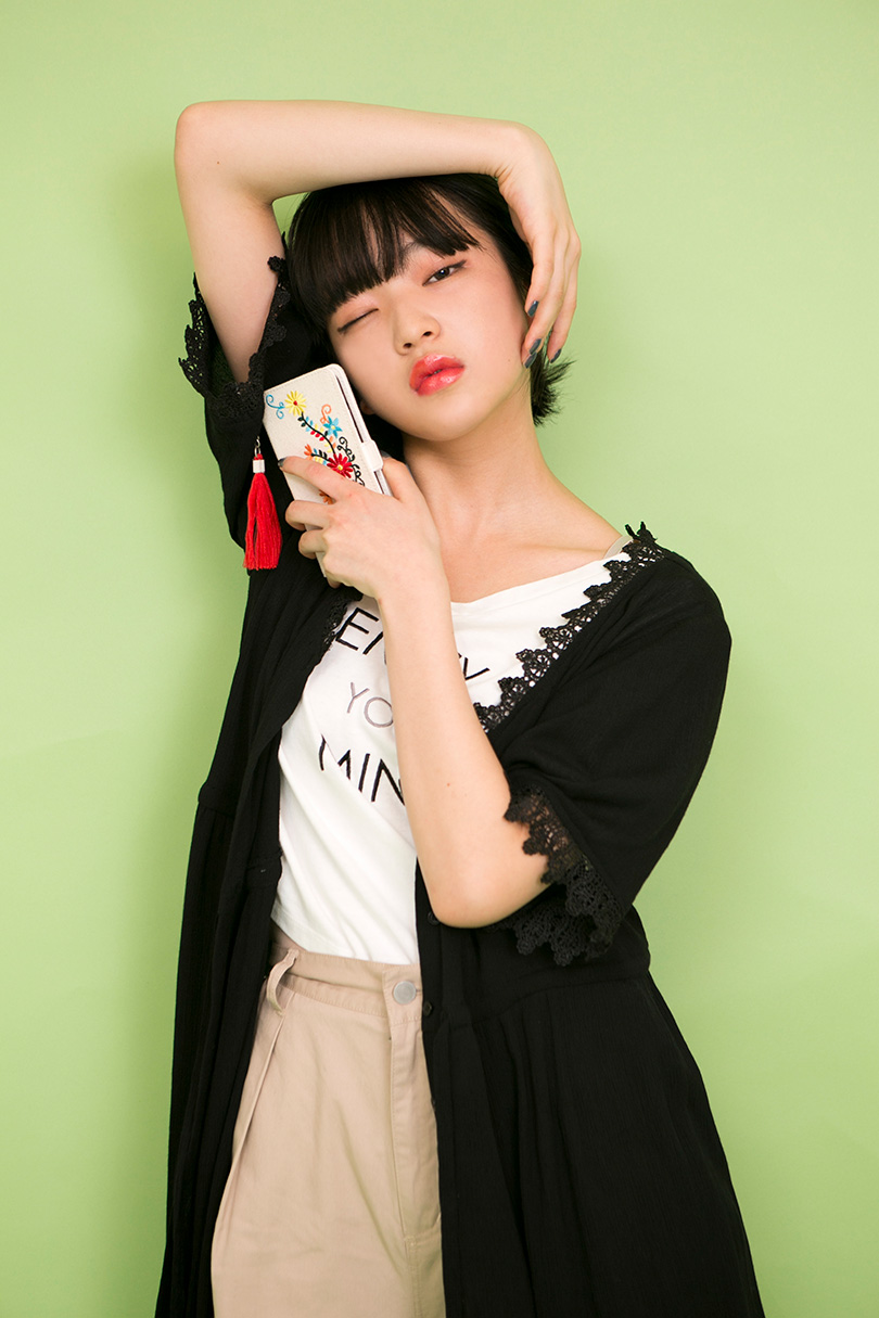 田中芽衣がお手本♡程良い甘さとこなれ感をプラスできる新作ガウンを着まわし