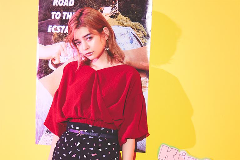瑛茉ジャスミンが着る、赤♡