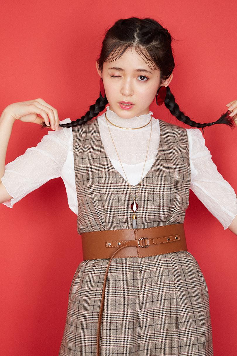 りんくまオススメ♡バックリボンが可愛いオールインワンで作るフレンチガーリースタイル