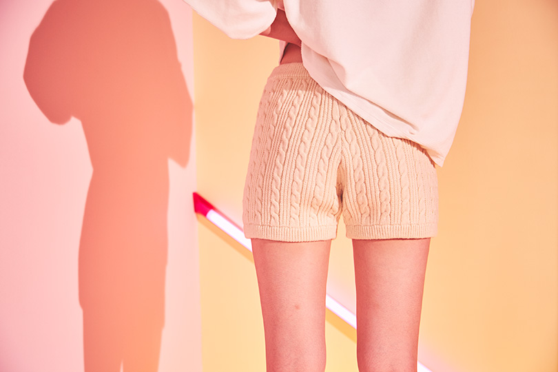 瑛茉ジャスミンが着る、ニットパンツ♡