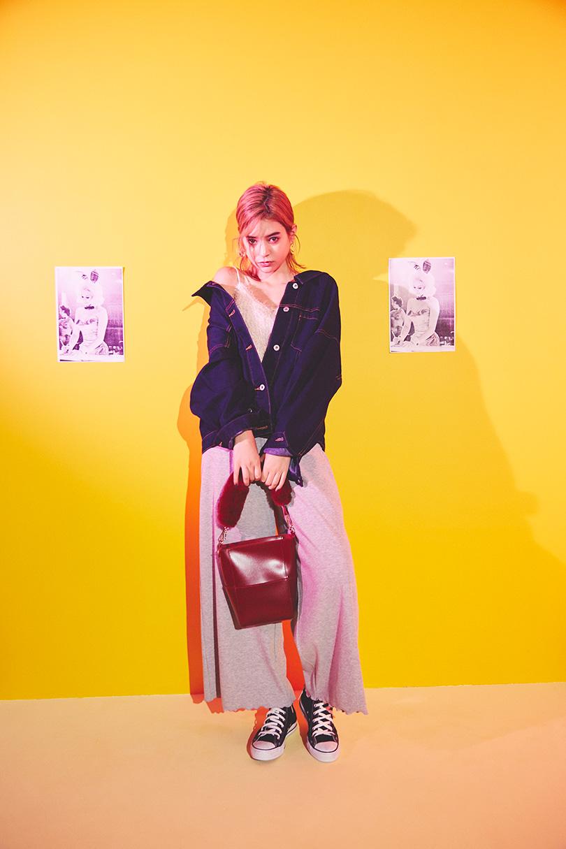 瑛茉ジャスミンが着る、進化系Gジャン