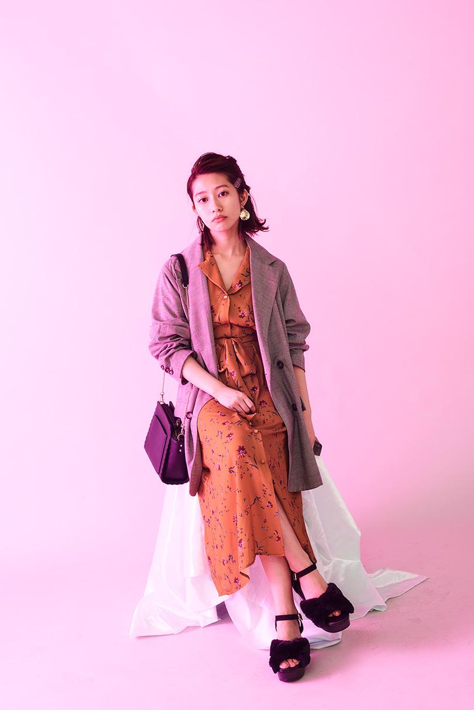乃木坂46の2人が着まわし♡クラシックなチェックジャケットSTYLE