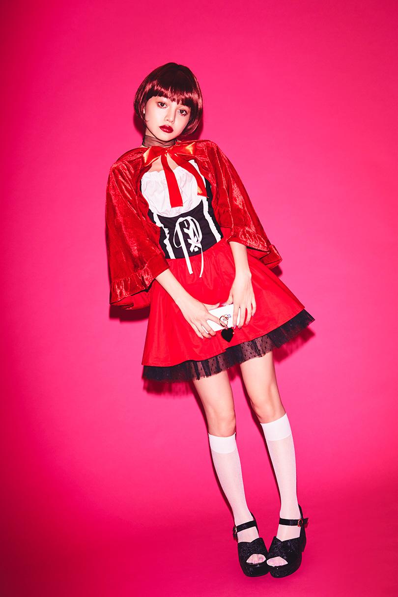 ちぃぽぽが着こなす、ハロウィン仮装3選♡