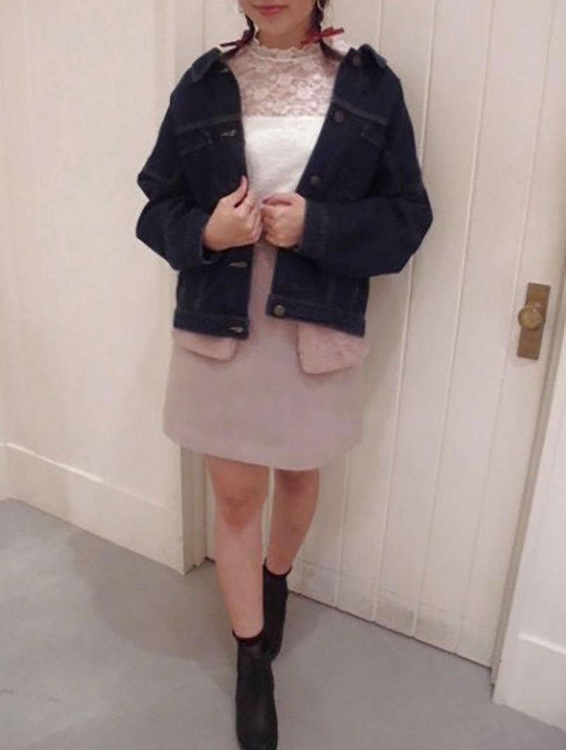 女優風に着こなし♡レトロなスクエアスカートをご紹介