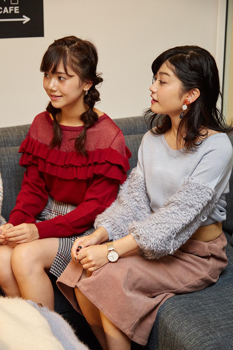 現役女子大生4人が選ぶニット!前編