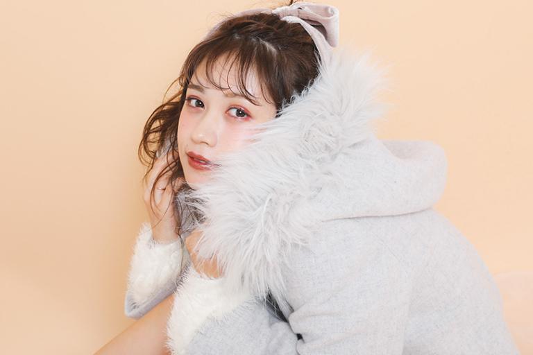 ミス青山ファイナリスト堺美紗稀が選んだアウター