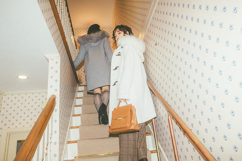 NMB48スペシャル連載 vol.06♡BIGファーダッフルコートを着こなし