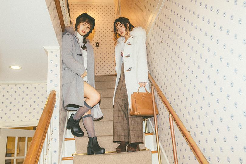 NMB48連載vol.6♡BIGファーダッフルコートを着こなし