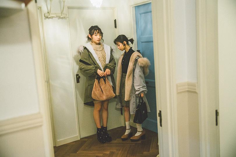 NMB48連載vol.9♡辛口ストリートなBIGファーモッズコート