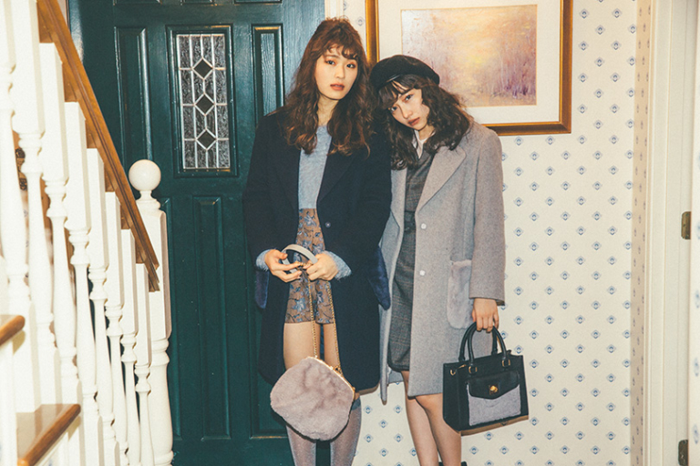 NMB48連載vol.10♡お嬢様風チェスターコートを着こなし