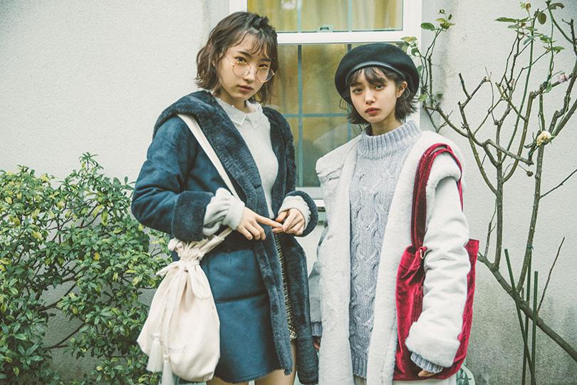 NMB48連載vol.13♡ラフな可愛さが魅力のムートンフードコート