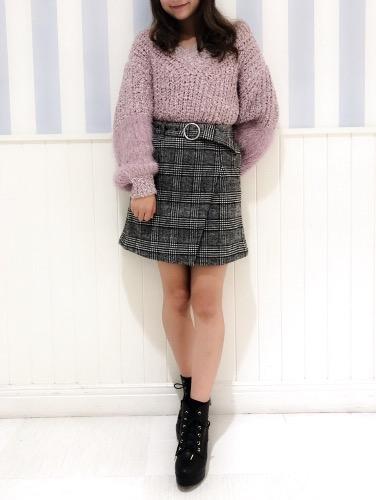 バルーン袖×シャギー切り替えがおしゃれ♡ 新作デザインニットをCHECK
