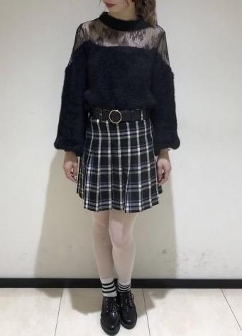 グッドガールな空気をプラスする♡チェック柄プリーツスカート