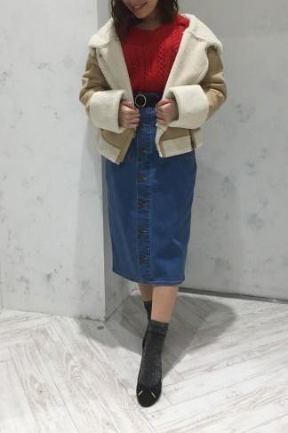 赤アイテムで仕上げる♡ バレンタイン必勝コーデ