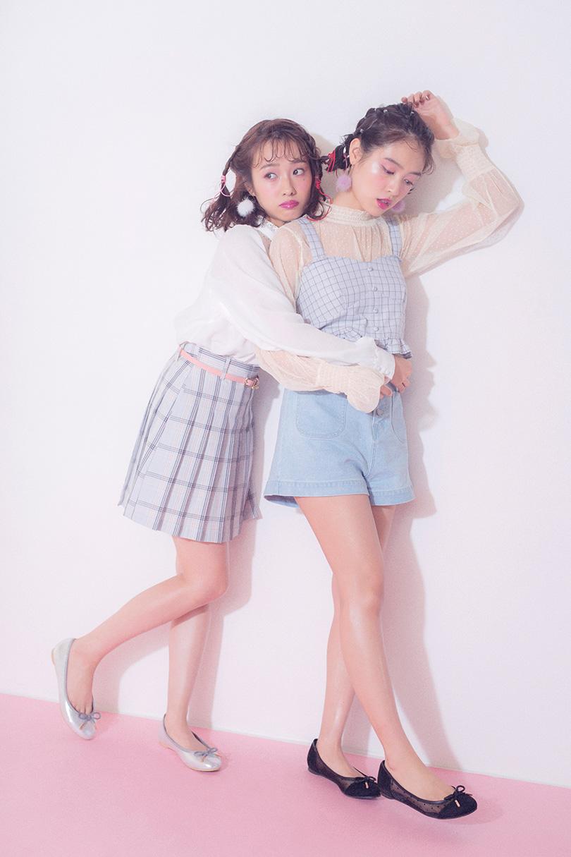 のんピピが着るバレンタインコーデ♡ 2人の愛用コスメも大公開