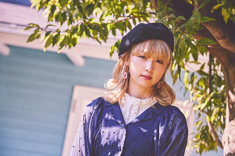 Dream Amiが着こなす♡ 春マリンなドット柄ワンピース