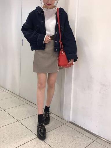 セットアップでも単体でも可愛い♡ チェック柄JK&スカート