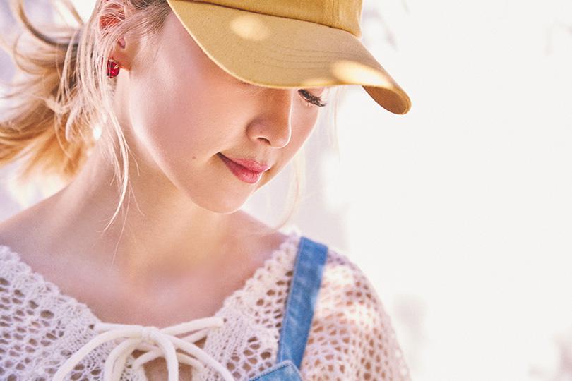 Dream Amiが着まわす♡ 甘めカジュアルな2WAYジャンスカ