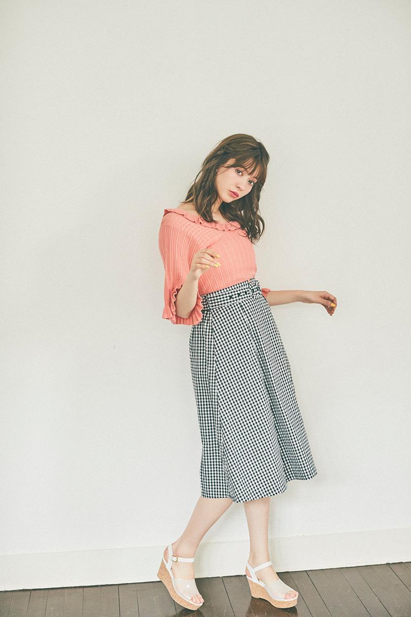 八木アリサvol.7♡ オレンジアイテムで春顔に!