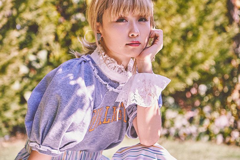 Dream Amiが着まわす♡ リラックスフェミニンな花柄ロンパース